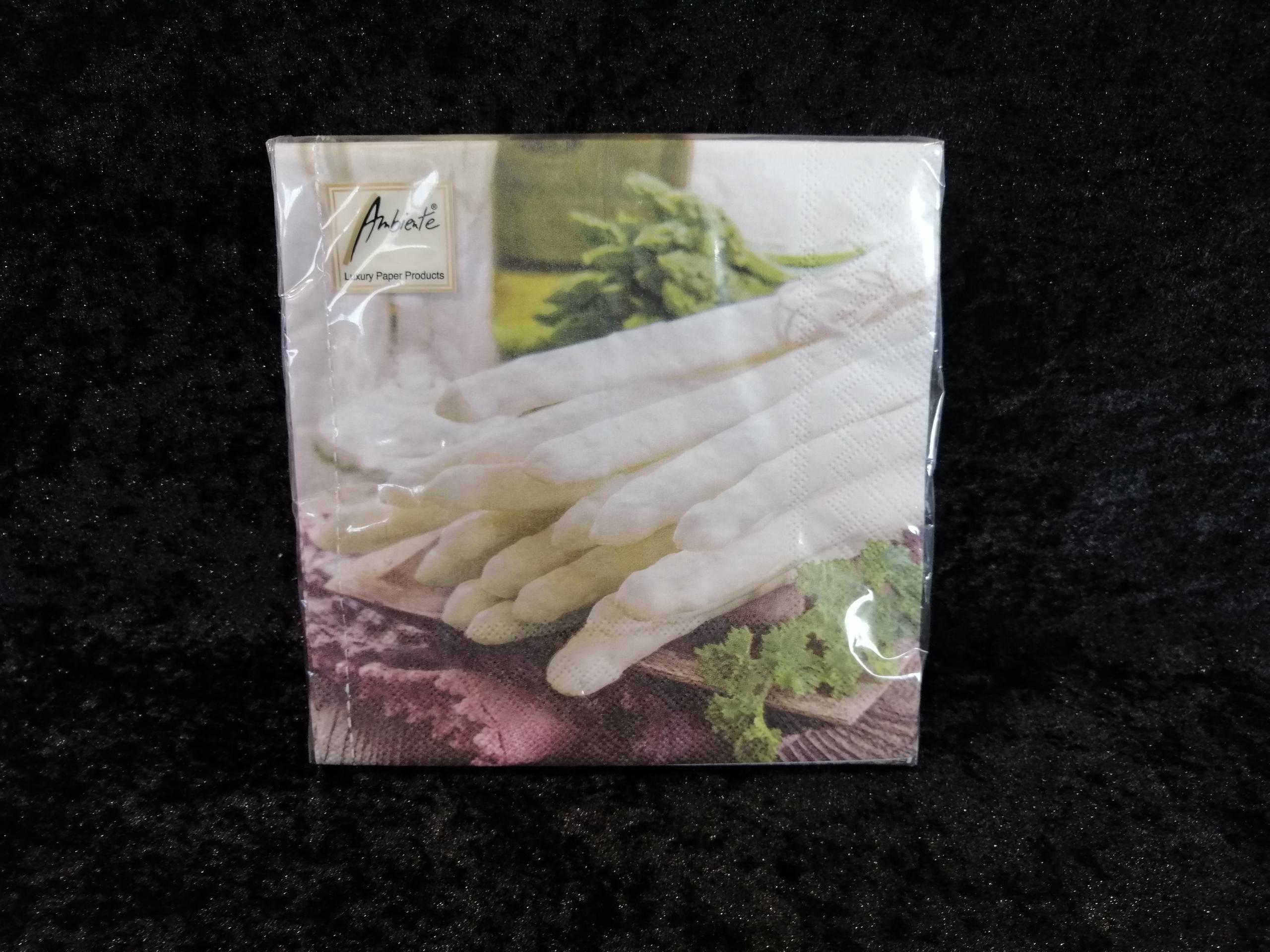 Asparagus mix Ambiente servetten