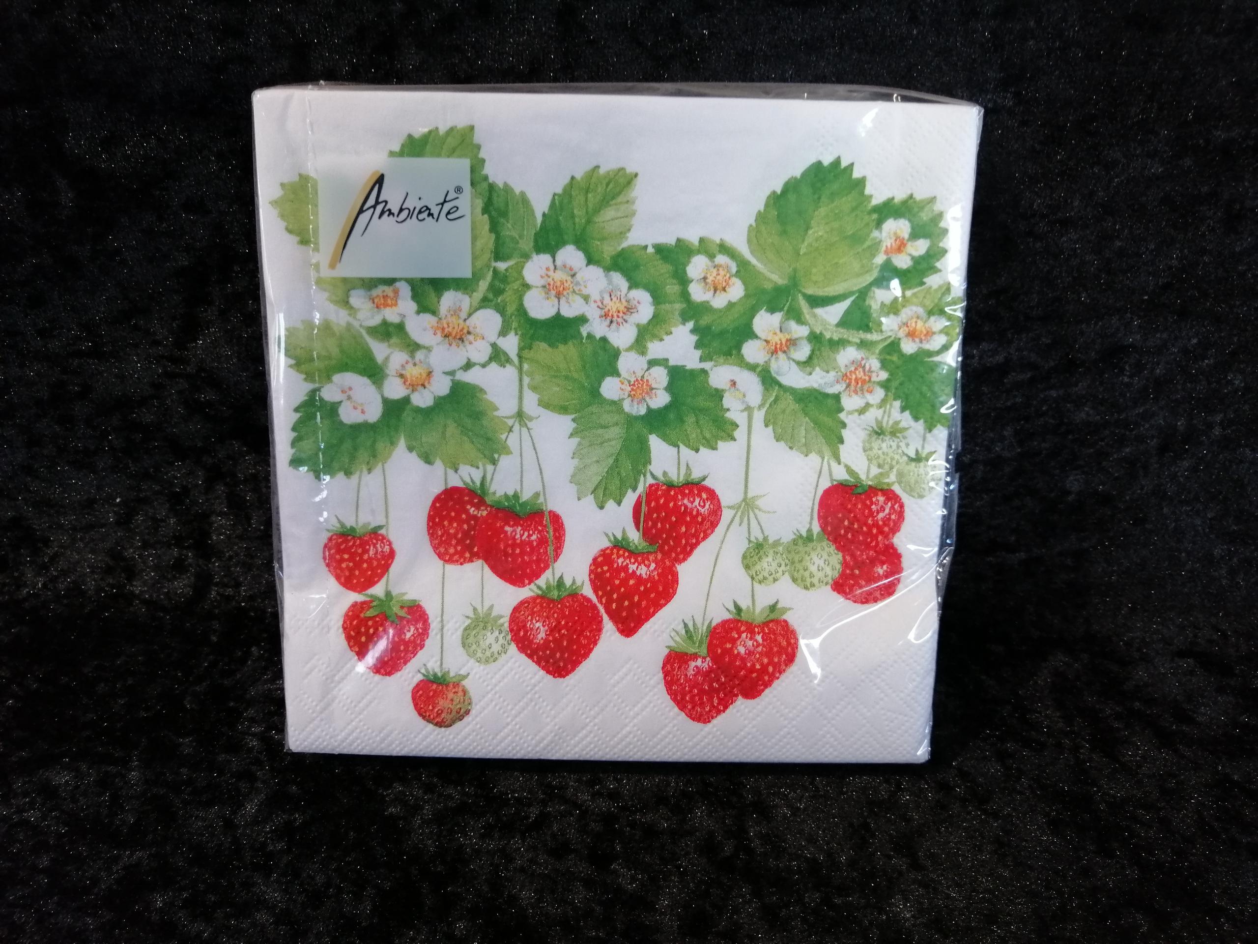 Summer fruits Ambiente servetten